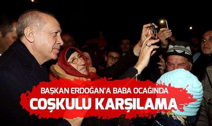 ERDOĞAN GÜNEYSU'DA VATANDAŞLARA HİTAP ETTİ!