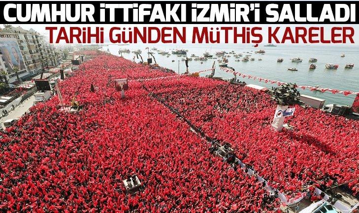 CUMHUR İTTİFAKI İZMİR'İ SALLADI!