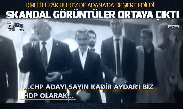 CHP'Lİ ADAY HDP'Lİ İSİMLERE OY İSTEDİ!