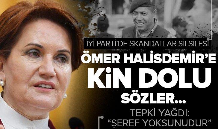 İYİ Parti'de yöneticilik yapan Uğur Songül Sarıtaşlı 15 Temmuz kahramanı Ömer Halisdemir için asıl darbeci ifadesini kullandı: Olsa olsa şeref yoksunudur