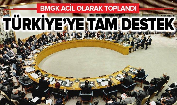 BMGK TOPLANDI: TÜRKİYE'YE TAM DESTEK