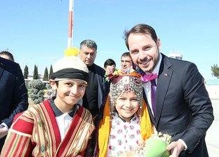 Hazine ve Maliye Bakanı Berat Albayrak'a Gaziantep'te sevgi seli