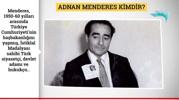 Menderes vefatının 58. yıl dönümünde anıldı