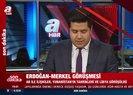 Başkan Erdoğan ve Merkel görüştü! Yunanistan ve Libya...