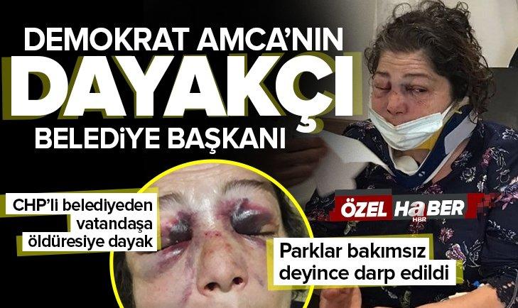 CHP'li Eynesli Belediye Başkanı Ahmet Latif Karadeniz'in adamları terör estirdi! Şikayetçi kadına öldüresiye dayak