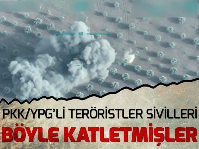 AFRİN'DE SİVİLLERE BOMBALI TUZAK