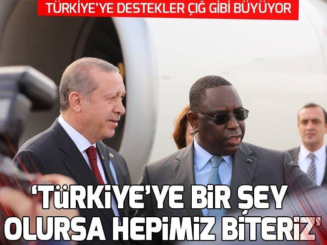 TÜRKİYE'YE BİR DESTEK DAHA GELDİ!