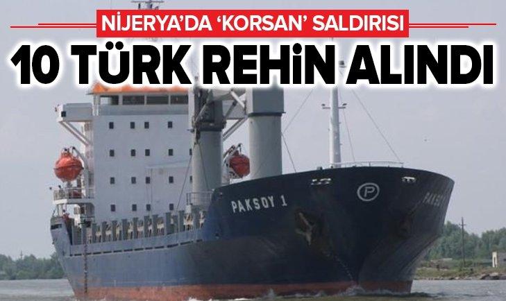 TÜRK GEMİSİNE 'KORSAN' SALDIRISI!