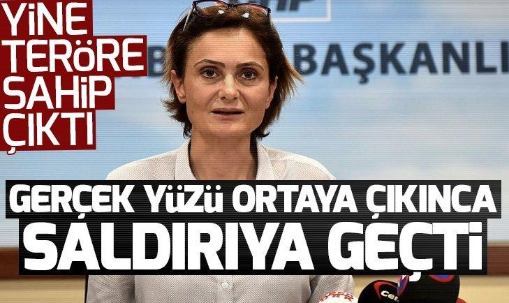 Canan Kaftancıoğlu gerçek yüzü ortaya çıkınca pes dedirten sözlerle saldırıya geçti!