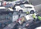Zincirleme kaza: 40 araç karıştı