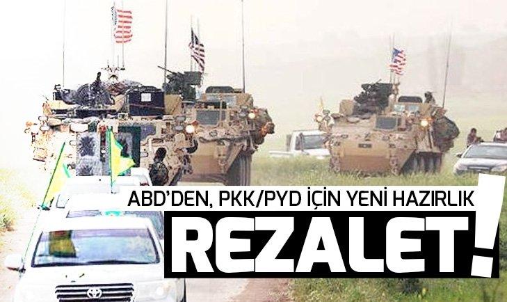 ABD'NİN YPG/PKK'YA YARDIMLARI SÜRÜYOR
