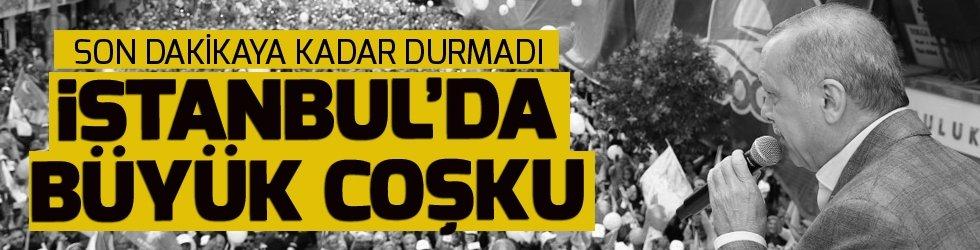 İstanbul'da Erdoğan rüzgarı