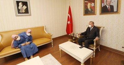 Başkan Erdoğan Kahramanmaraş'ta! Siyam ikizleri Ayşe ve Sema Tanrıkulu ile bir araya geldi