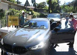Emre Belözoğlu'nun servet değerindeki arabası ilgi odağı oldu!