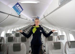 Airbus, A220 uçaklarını İstanbul'da tanıttı