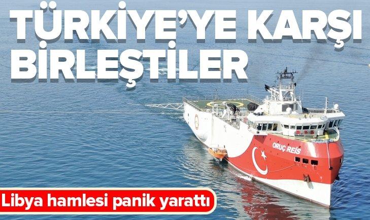 TÜRKİYE'NİN LİBYA HAMLESİ PANİK YARATTI!