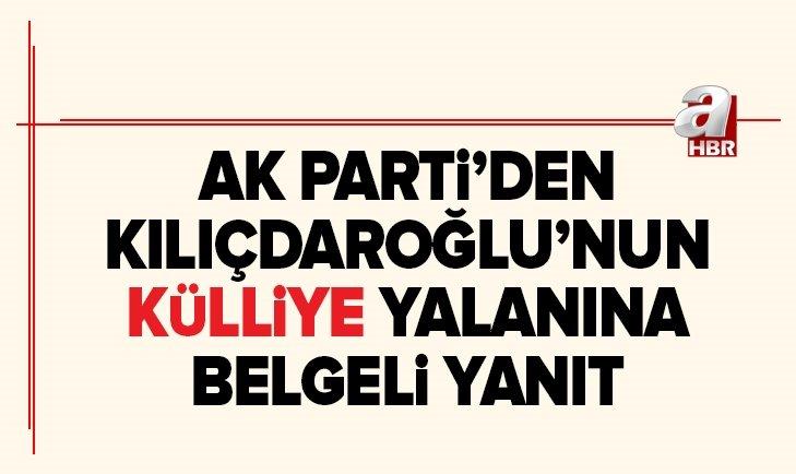 AK Parti'den Kılıçdaroğlu'nun Cumhurbaşkanlığı Külliyesi yalanına yanıt