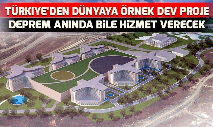 Başakşehir Şehir Hastanesi'nde son durum ne? Tamamlandığında dünyanın en büyük hastanelerinden olacak!