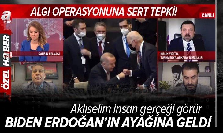 Başkan Erdoğan hakkındaki algı operasyonuna A Haber'de sert tepki! Aklıselim insan gerçeği görür
