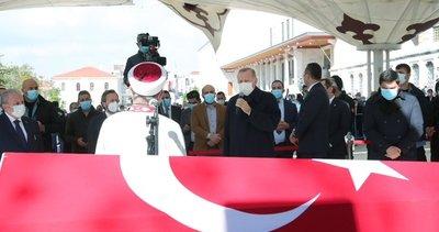 Son dakika: Burhan Kuzu'ya veda! Başkan Erdoğan da cenaze törenine katıldı