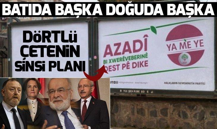 PKK'NIN AMACINA HİZMET EDİYORLAR
