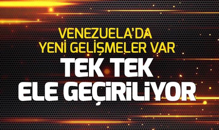 SON DAKİKA: TEK TEK ELE GEÇİRİLİYOR! VENEZUELA'DA YENİ GELİŞMELER VAR
