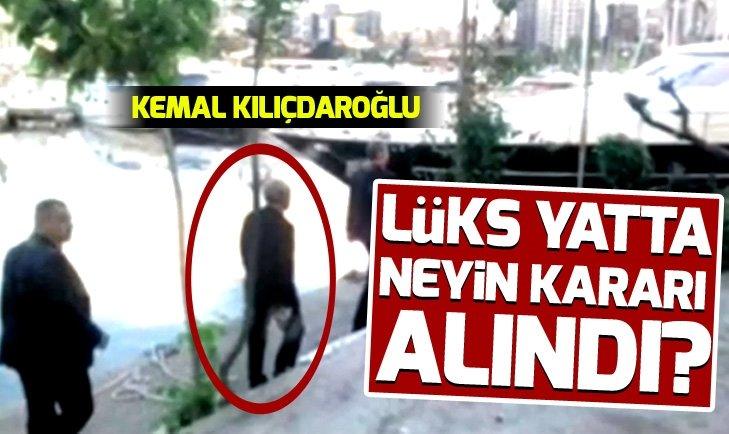 Lüks yatta Abdullah Gül - Kemal Kılıçdaroğlu görüşmesinde hangi kararlar alındı?