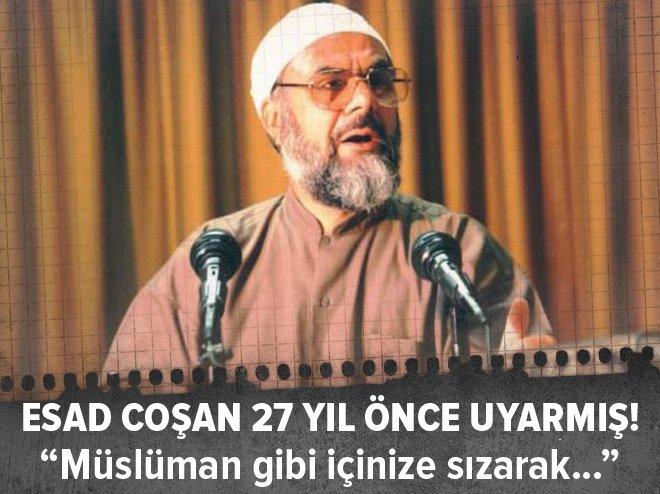 ESAD COŞAN 27 YIL ÖNCEDEN BUGÜNLERİ GÖRMÜŞ!
