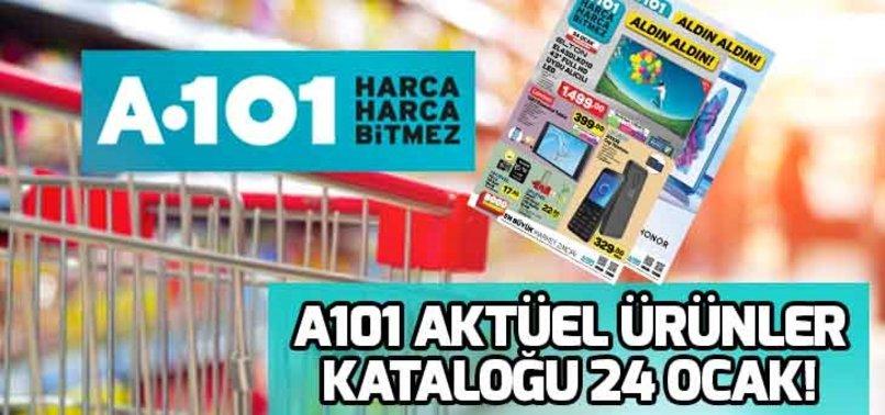 A101 AKTÜEL ÜRÜNLER KATALOĞU 24 OCAK!