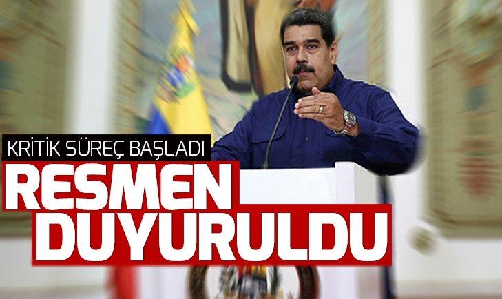 VENEZUELA'DAN ABD'Lİ DİPLOMATLARA 72 SAAT SÜRE