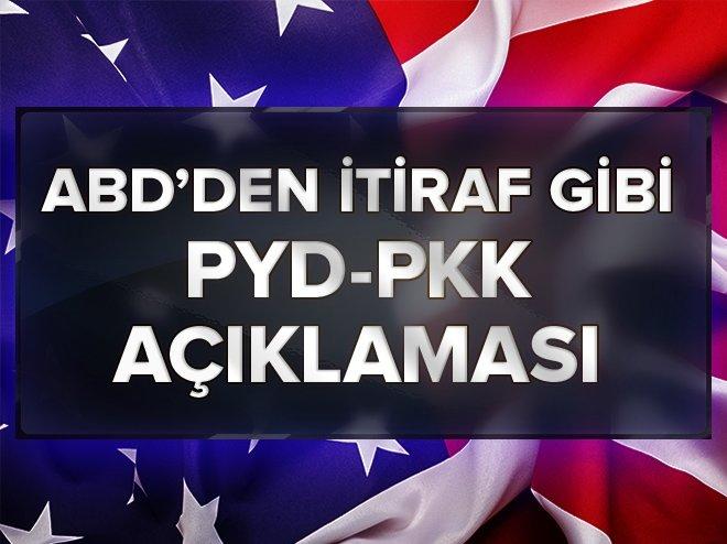 ABD'DEN PYD-PKK İTİRAFI!