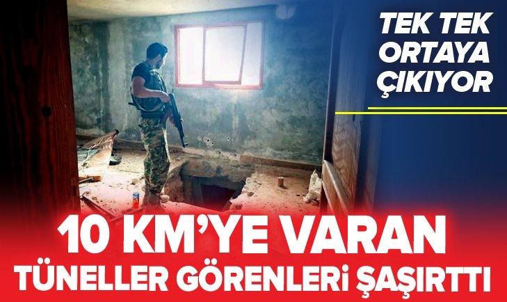 PKK/YPG'NİN TÜNELLERİ TEK TEK ORTAYA ÇIKIYOR!