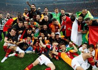 Galatasaray şampiyonluğu böyle kutladı
