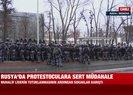 Rusyada güvenlik güçleri sokaklara indi! Yüzlerce kişi gözaltına alındı