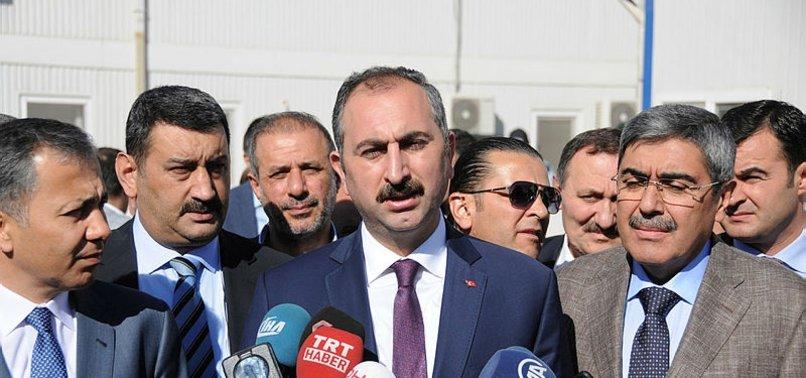 ADALET BAKANI'NDAN 'METİN TOPUZ AÇIKLAMASI'