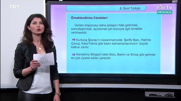 8. Sınıf  Türkçe Konu: Cümlede Anlam