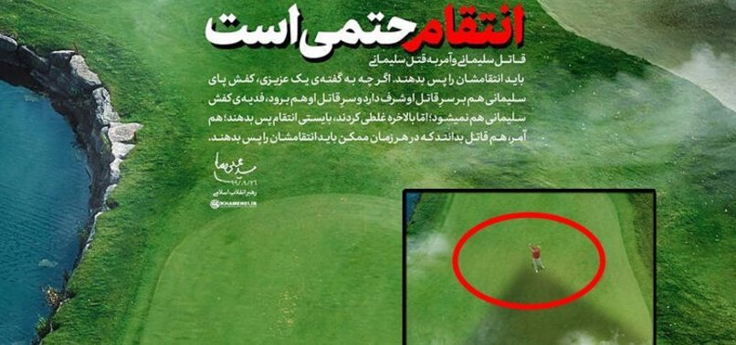 Son dakika: İran'ın dini lideri Hamaney'den Trump'a intikam mesajı! Dünya bu fotoğrafı konuşuyor