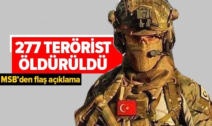 Barış Pınarı Harekatı'nda teröristlere büyük darbe