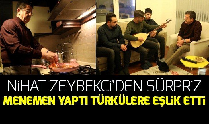 Nihat Zeybekci'den öğrencilere sürpriz
