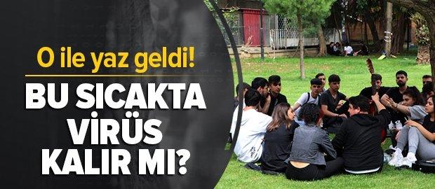 Adana'da termometreler 41 dereceyi gösterdi: Bu sıcakta virüs kalır mı?