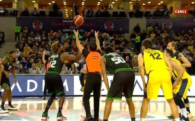 Darüşşafaka Tekfen - Fenerbahçe Beko maçı şifresiz A Spor CANLI izle