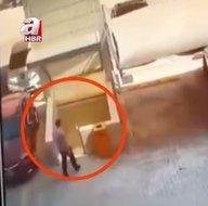 Katlı otoparka aracını park etti saniyeler sonra neye uğradığını şaşırdı! Ölümden kıl payı böyle kurtuldu
