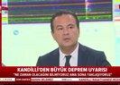 Son dakika: Kandilli'den canlı yayında İstanbul depremiyle ilgili açıklama yapılırken deprem oldu |Video