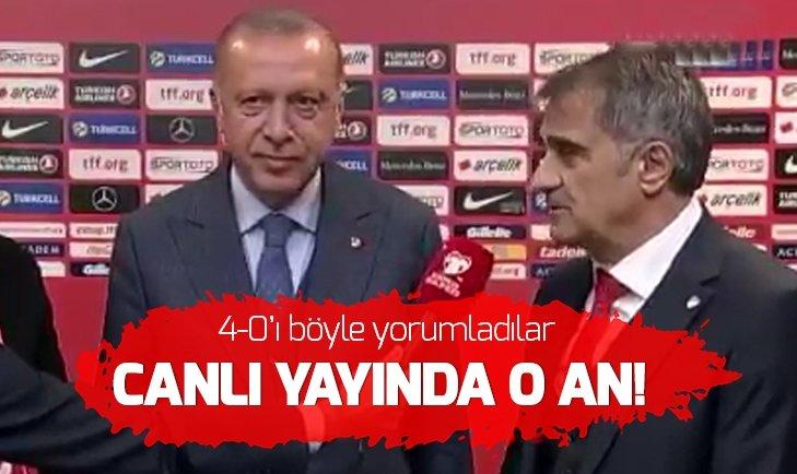Başkan Erdoğan'dan 4-0 yorumu