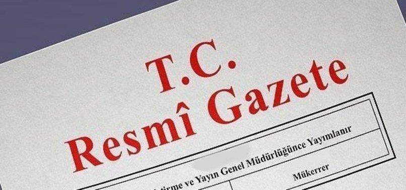 HSK KARARLARI RESMİ GAZETE'DE YAYIMLANDI