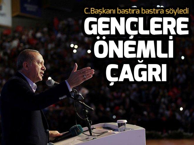 Cumhurbaşkanı Erdoğan'dan gençlere Osmanlıca çağrısı