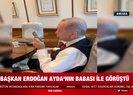 Başkan Erdoğan İzmir depreminde enkazdan kurtulan Aydanın babasıyla konuştu