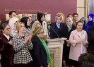 Mecliste Özlem Zengine destek