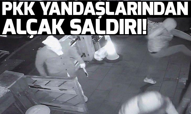 İngiltere'de PKK yandaşları Türk derneğine saldırdı