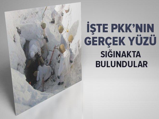 BİNGÖL'DE PKK SIĞINAĞINDA 2 CESET BULUNDU